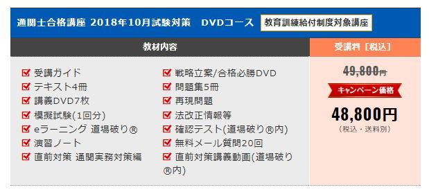 通関士合格講座 DVD