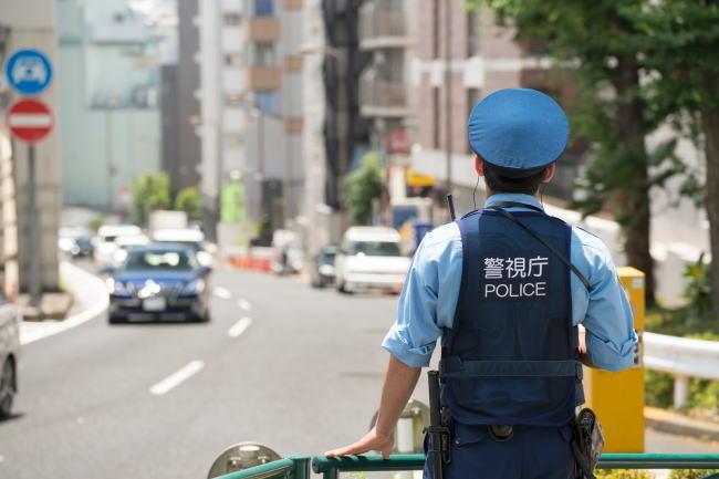 警視庁の警察官