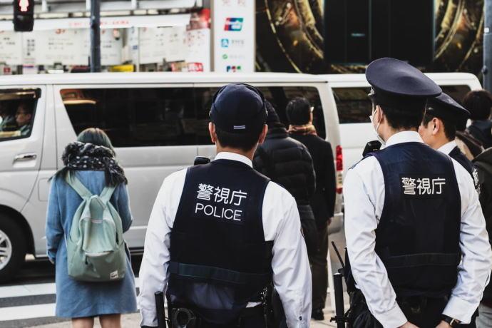 警視庁の警察官たち