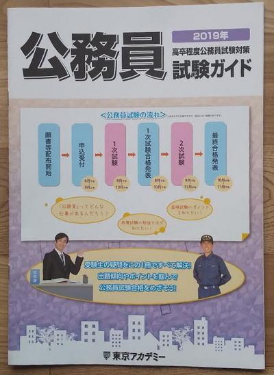 高卒程度公務員試験対策「試験ガイド」